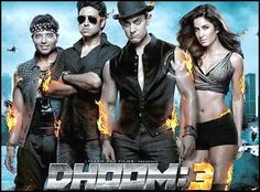Video: Mistakes in Dhoom 3 http://www.andhrawishesh.com/home/quick-news/47673-mistakes-in-dhoom-3.html  Errors are quite common in films. Only the perfectionist directors take minute care of the film and place it before the audience. But still few errors will unknowingly get in and audience catch hold of them quite easily.