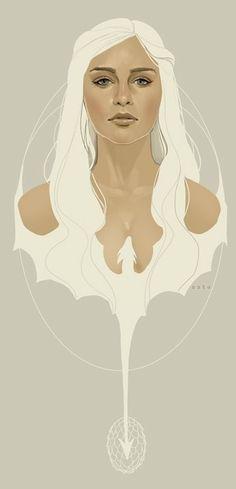 game of thrones is addicting, khaleesi is my favorite