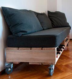 Proyectos a medida - Juego de sillones móviles encastrables #diseñosamedida #sillones www.facebook.com/... www.sachamuebles.com