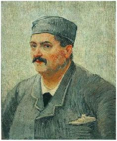Retrato de un hombre con gorro
