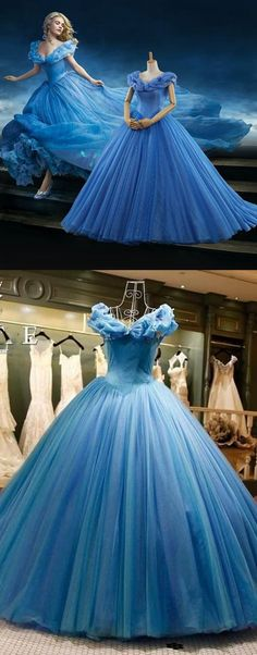 Off The Shoulder Tulle Long Prom Dress Gown,Popular Wedding Party Dress,Fashion Evening Dresses