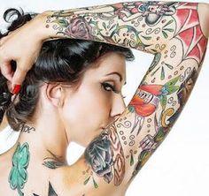 Acabou de fazer uma tatuagem? Então confira quais os sinais de uma tatuagem infetada. #tatuagens #tattoo #ink