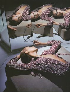 """midnight-charm: """" """"Zoom zoom zoom, Let's Go Back To My Room"""" photographed by Mert & Marcus for The Face February 2000 """""""