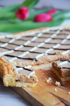 Mazurek kawowy Tea Time, Good Food, Cooking Recipes, Easter, Baking, Breakfast, Poland, Blog, Dessert