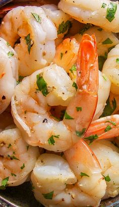 10 Minute Cilantro Lime Shrimp