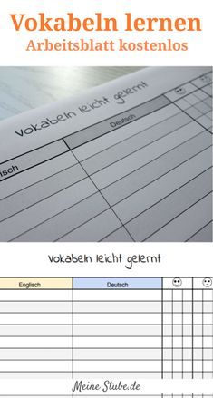 13 best Englisch Vokabeln lernen images on Pinterest | English ...