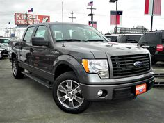 2014 Ford F150 STX 4x4 Super Crew Sterling Gray Metallic | Ford F150 ...