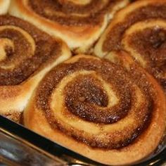 Ninety Minute Cinnamon Rolls. Made these this morning. Yummy