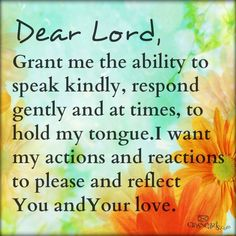 Grant me the ability to speak kindly and respond gently     https://www.facebook.com/photo.php?fbid=648353338527279