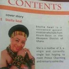 Oh dear! Meet this living legend from Ghana - https://www.nollywoodfreaks.com/meet-this-living-legend-from-ghana/