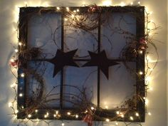 Primitive Window With Lights!