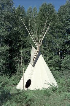 tipi portrait by tipi dweller, via Flickr