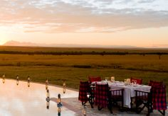 #MasaiMara National Reserve, Kichwa Tembo. Sleep under tented canvas in complete luxury.