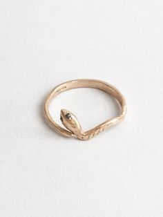 Eva The Snake Ring Rose Gold #machapintowin #finallyfoundjewelryilove