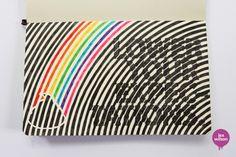 Moleskine Typography by Lex Wilson