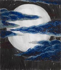 Hannaleena Heiska   Blue Moon (2020)   Available for Sale   Artsy Blue Moon, Artsy, Pastel, Texture, Contemporary, Artwork, Crafts, Image, Surface Finish