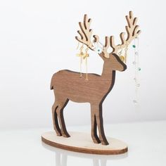 small deer jewellery stand