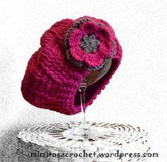 Patrones de boinas para tejidos a crochet Gorros Tejidos A Gancho d26a0c09fdb