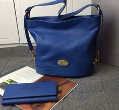 Mulberry Spring Summer 2015 Catwalk Collection Outlet UK-Mulberry Small Jamie Blue Washed Calf
