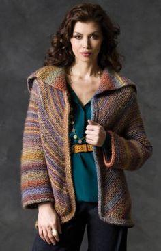 free jacket pattern, knit