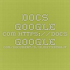docs.google.com   Tech Tools list with tutorial to learn using some usefull tools.