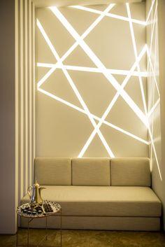 Coole Wandbeleuchtung   Setzt Lichtakzente Im Raum