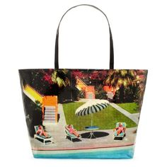 Great summer beach bag...there was actually an old Wildwood motel in the print they used last year for this bag...