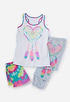 b52eef392e Dream Catcher Pajama Set Justice Pajamas, Cute Pajamas, Cute Pjs, Kids  Makeup,