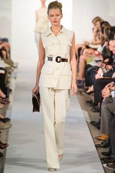 Oscar De La Renta Spring 2013 - Wonder if I can accomplish this look with Vogue XXXX