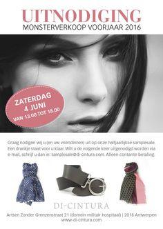 Di-Cintura sjaals en ceinturen -- antwerpen -- 04/06