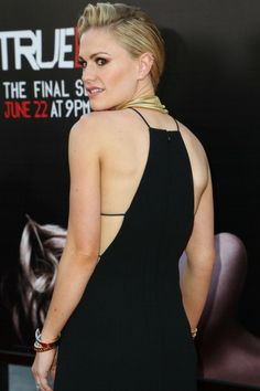 Anna Paquin attends HBO 'True Blood' season 7 premiere at TCL Chinese Theatre on June 17, 2014 in Hollywood, California
