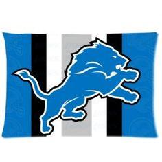 Custom Detroit Lions Pillowcase
