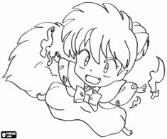 40 best inuyasha coloring pages images on Pinterest ...