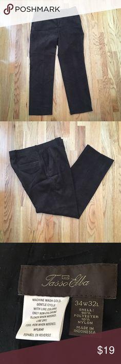 Pants Great fabric Tasso Elba Pants Chinos & Khakis