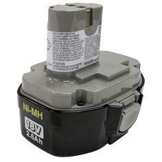 Makita 18-Volt Ni-MH Battery