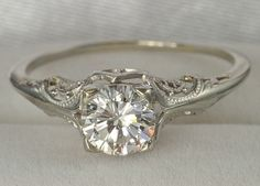 Vintage wedding ring wedding...love the detail