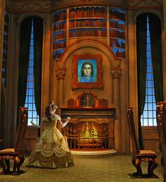 Belle in the Beast's Library