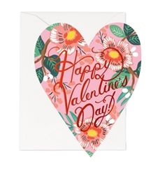 Rifle Paper Co. Heart Blossom Valentine cards now at Northlight