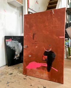 Modern Art, Contemporary Art, Orange Home Decor, Art Storage, Environment Concept, Diy Canvas Art, Wall Sculptures, Resin Art, Wood Wall