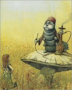 Alice and the caterpillar Illustrated by Robert Ingpen