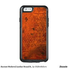 Ancient Medieval Leather Bound Book Cover OtterBox iPhone 6/6s Case
