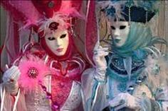 Two costumed women