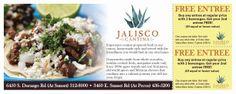Direct Mail Design for Jalisco Mexican Restaurant Las Vegas