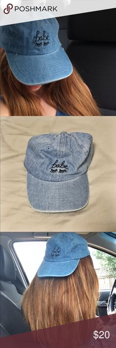 UO Babe Eyelash Baseball Cap Only Worn Once Pictured Perfect Condition