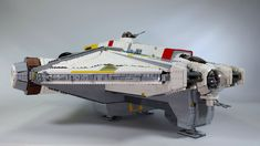 Get The Instructions Here: www. Lego Creator Sets, Cool Lego, Cool Toys, Lego Ucs, Lego Universe, Lego Challenge, Lego Ship, Lego Spaceship, Star Wars Ships