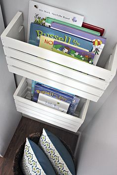 Crate Book Storage