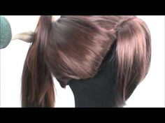 How to add wefts to regular wigs for ponytails and updo's without the cap showing around the hairline