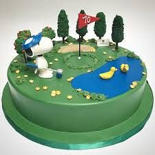 Image result for golf green cakes