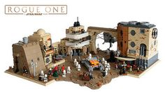 Jedha - Ambush On Tythoni Square Rogue One - A STAR WARS Story Here I want to present you my newest MOC. It shows the Tythoni Square, Jedha City. I build this MOC for the German ComicCon 2017 in Stuttgart, Germany. As I saw the first trailer or even the teaser trailer of Rogue One the decision was made and I definitely had to build the scene on the Tythoni Square. As you can see it is not the exact scene because when the AT-ST arrives, the tank and the building with the white balconies…