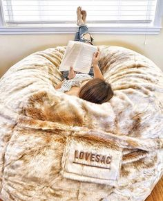 This Is So Awesome 8 Foot Lovesac Big One Foam Bag Home